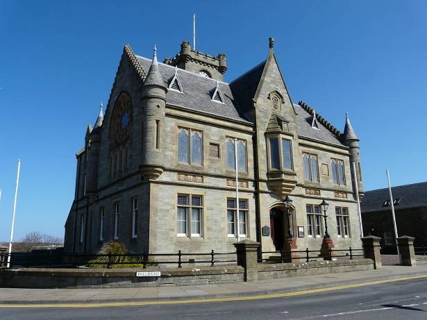 Stadhuis van Lerwick